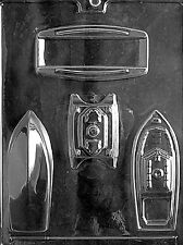3D BOATS Chocolate Candy Mold LOP-N013