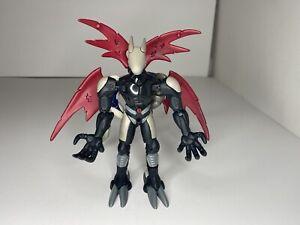 Rare Bandai Digimon Warp-Digivolving Cyberdramon to Justimon figure