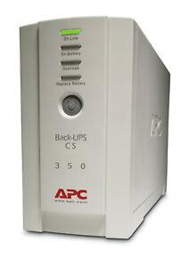 APC BK350EI Back-UPS Standby (Offline) CS 350VA 4x AC outlets BK350EI