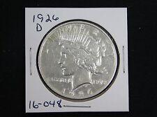 1926-D Peace Dollar  BU  (16-048)