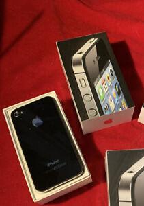 Apple iPhone 4 - 8GB - Black (Verizon) A1349 New Opened Collector Item 6.1 iOS