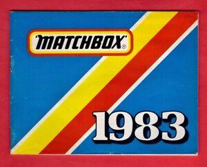 Pocket Catalogue ~ Matchbox Toys - Model Cars: Superkings: Yesteryear - 1983