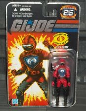 G I GI JOE 25TH ANNIVERSARY SERIES COBRA HISS H.I.S.S. DRIVER  FIGURE MOC
