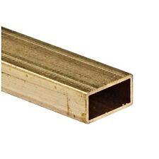 """Rectangular Brass Tube, 3/32 X 3/16"""", Carded"""