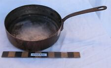 "Vtg Villedieu France Williams Sonoma 9"" Diameter Copper Saucepan Needs Cleaning"