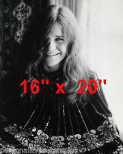 "Janis Joplin~ Casual~ Poster~16"" x 20"" Photo"