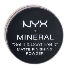 NYX Mineral Set It & Don't Fret It Matte Finishing Powder MFP01 Light / Medium