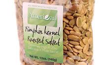 12 Oz Gourmet Style Bag of Freshly Roasted Salted Pumpkin Seeds [3/4 lb.]