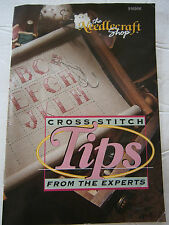 Cross Stitch Tips From The Experts Pattern Book Alphabet The Needlecraft Shop
