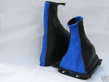 FITS ASTRA G COUPE GEAR&HANDBRAKE GAITER LEATHER+PU SUEDE 1998-2005