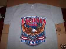 1999 Bike Week Laconia Classic Motorcycle Rally Weirs Beach, NH T-Shirt