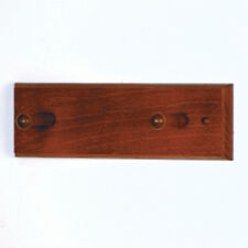 "Wooden Mallet 2 Peg Coat Rack- HCR-2WMH Coat Rack 36"" x 3.5"" x 4.5"" NEW"
