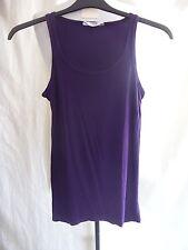 Girls Vest - Tammy, age 152-158cm, purple, longer length, viscose/stretch - 7203
