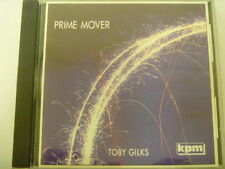 KPM PRIME MOVER TOBY GILKS  RARE LIBRARY SOUNDS MUSIC CD