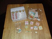 CALICO CRITTERS WALL LAMPS CURTAINS PAPER BOXES BABY MINIATURE ACCESSORY LOT