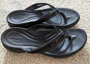 Crocs Woman's Size 8 Flip Flops