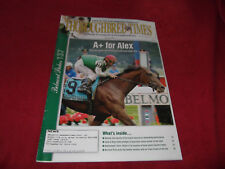THOROUGHBRED TIMES-6-18-2005-AFLEET ALEX WINS THE BELMONT STAKES!