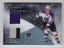2010-11 Artifacts Luc Robitaille Frozen Artifact Dual Jersey Patch (20/50) JSY #