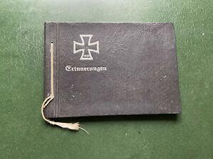altes Leer Foto Album, Wk2, Erinnerungen (020921)71