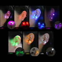 Pendiente LED de luz hasta Bling oreja espárragos para los pendientes Club Party