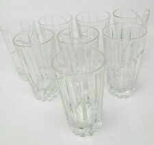 Crystal Highball Drinkware Glass Set Gorgeous Tall Drinking Glasses set of 8