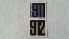 32A 37 1965 Porsche 911 6 Zylinder 912 Preisliste Prospekt Brochure  deutsch