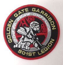 Star Wars Golden Gate Garrison 501st legión uniforme Patch disfraz Patch