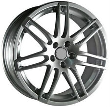 "18"" Wheels For Audi A3 A4 A5 A6 VW GTI Jetta MK5 MK6 18x8 Silver Rims Set (4)"