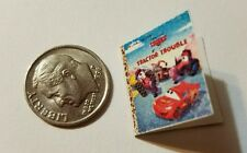 Miniature Book Disney Pixar Cars Movie Barbie 1/12 Scale Boy Toy Tractor B