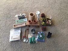 More details for 1/12 dolls house garden items