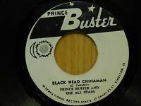 Prince Buster 45 Black Head Chinaman on Prince Buster rocksteady Jamaican