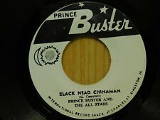 Prince Buster 45 Black Head Chinaman on Prince Buster rocksteady Jamaican