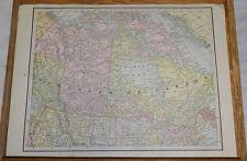 1891 Antique CRAM Map///DOMINION OF CANADA