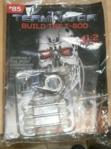 Hachette Partwork Build the T-800 Endoskeleton Terminator SCALE 1:2 Issue #85