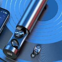 Bluetooth 5.0 Drahtlose Kopfhörer TWS Earphones Earbuds für IOS / Pods V8F1