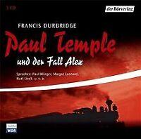 Paul Temple und der Fall Alex. 3 CDs von Francis Durbridge | Buch | Zustand gut