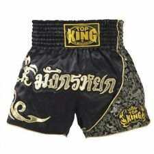 Top King Muay Thai shorts K1 MMA NEW LARGE