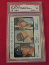 1973 Mike Schmidt Rookie PSA Graded 5.5 EX+ Topps Baseball Card #615