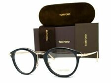 Tom Ford TF5497 5497 001 Eyeglasses Black Rose GOLD Frames 48mm New Authentic
