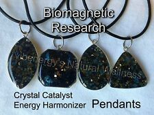 Biomagnetic Research Crystal Catalyst Energy Harmonizer ORGONE Pendant -4 styles