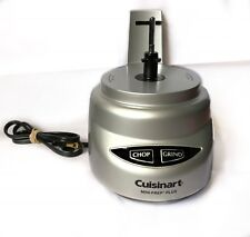 Cuisinart Mini Prep Plus MOTOR BASE ONLY Silver Model DLC-2 Tested Replacement