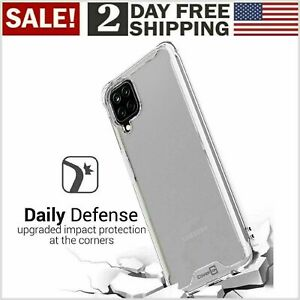 Cober Funda Para Samsung Galaxy A12 Cover Anti Choque Telefono Protector Clear