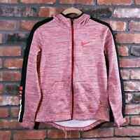 Nike Dri-fit Therma Elite Basketball Hoodie Hooded Sweatshirt Red Boys' Sz XL