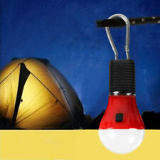 1w LED GLS de pilas Lámpara Bombilla CAMPING LINTERNA + mosquetón clip, 40lm