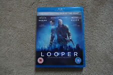 Looper Bluray Region B Watched Once - Time Travel Bruce Willis Emily Blunt