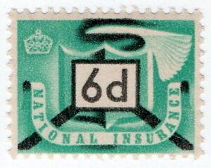 (I.B) Elizabeth II Revenue : National Insurance 6d
