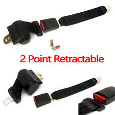 Universal  Point Safety Seat Belt Buckle Auto Car Adjustable Retractable New g