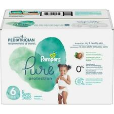 Pampers Pure Protection Disposable Diapers Size 6 (35+ lb) 42 Count