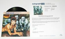 DAVID BOWIE SIGNED 'DIAMOND DOGS' 7 INCH 45 VINYL RECORD SINGLE ACOA LOA COA