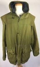 VINTAGE 90'S BARBOUR DURHAM  COTTON HOODED JACKET C46 AUTHENTIC USED